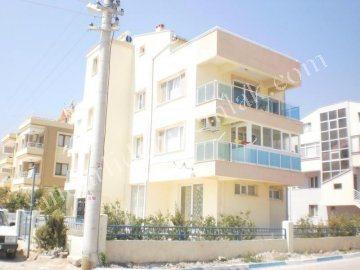 Çandarlı Merkezde Satılık Apartman Dublex