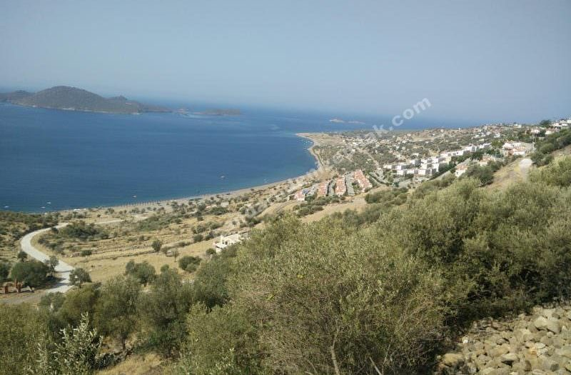 Çandarlı Denizkent Deniz Manzaralı Arsa