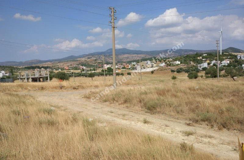 Çandarlı Mavikent 'te Satılık Bağımsız Arsa