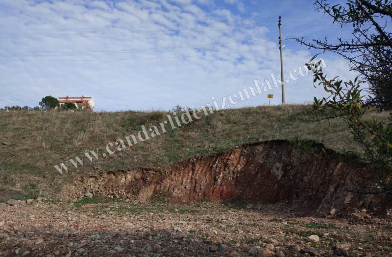 Çandarlı Mavikent Hafriyatı Yapılmış Satılık Arsa