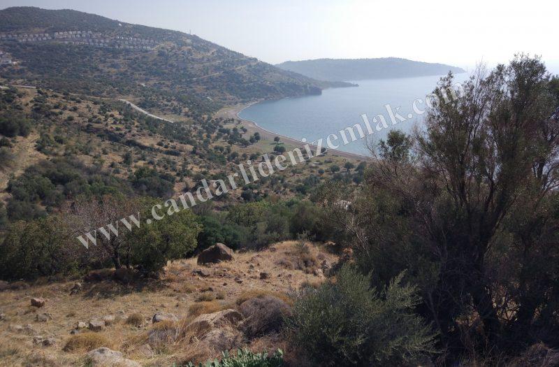 Çandarlı Bimeyko Satılık Arsa 311m2 Deniz Manzaralı