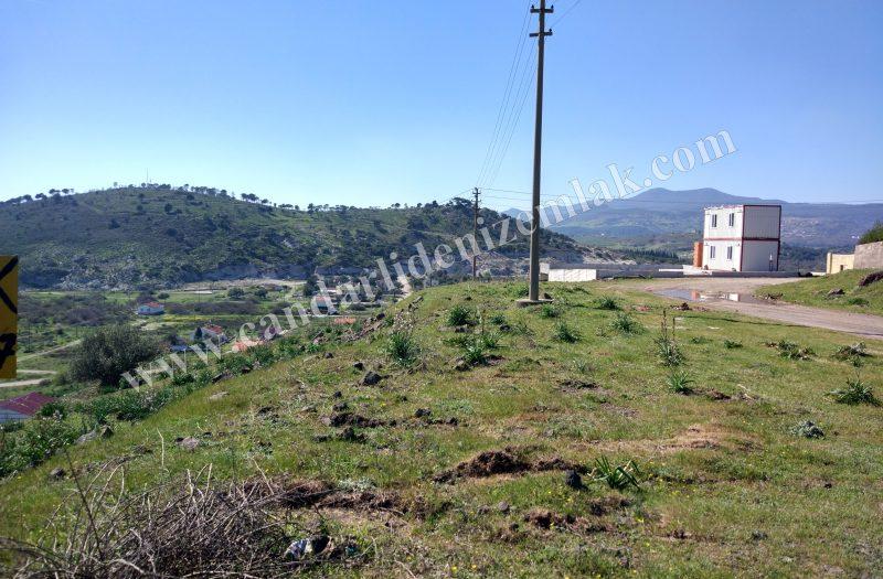 Çandarlı Mavikent 'te Satılık Arsa Manzaralı