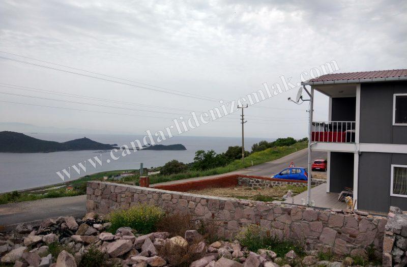 Çandarlı Bimeyko 'da Satılık Projesi Yapılmış Arsa